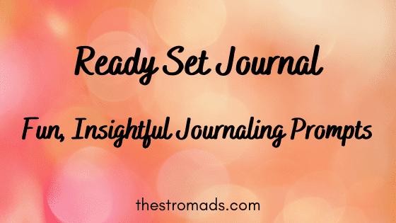 Fun insightful journal prompts