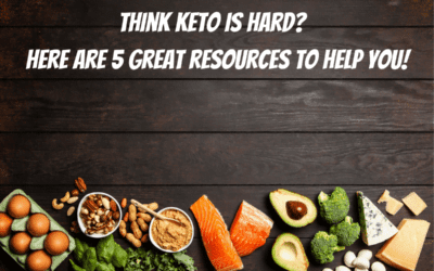 Think Keto Is Hard?  Here Are Five Great Resources!