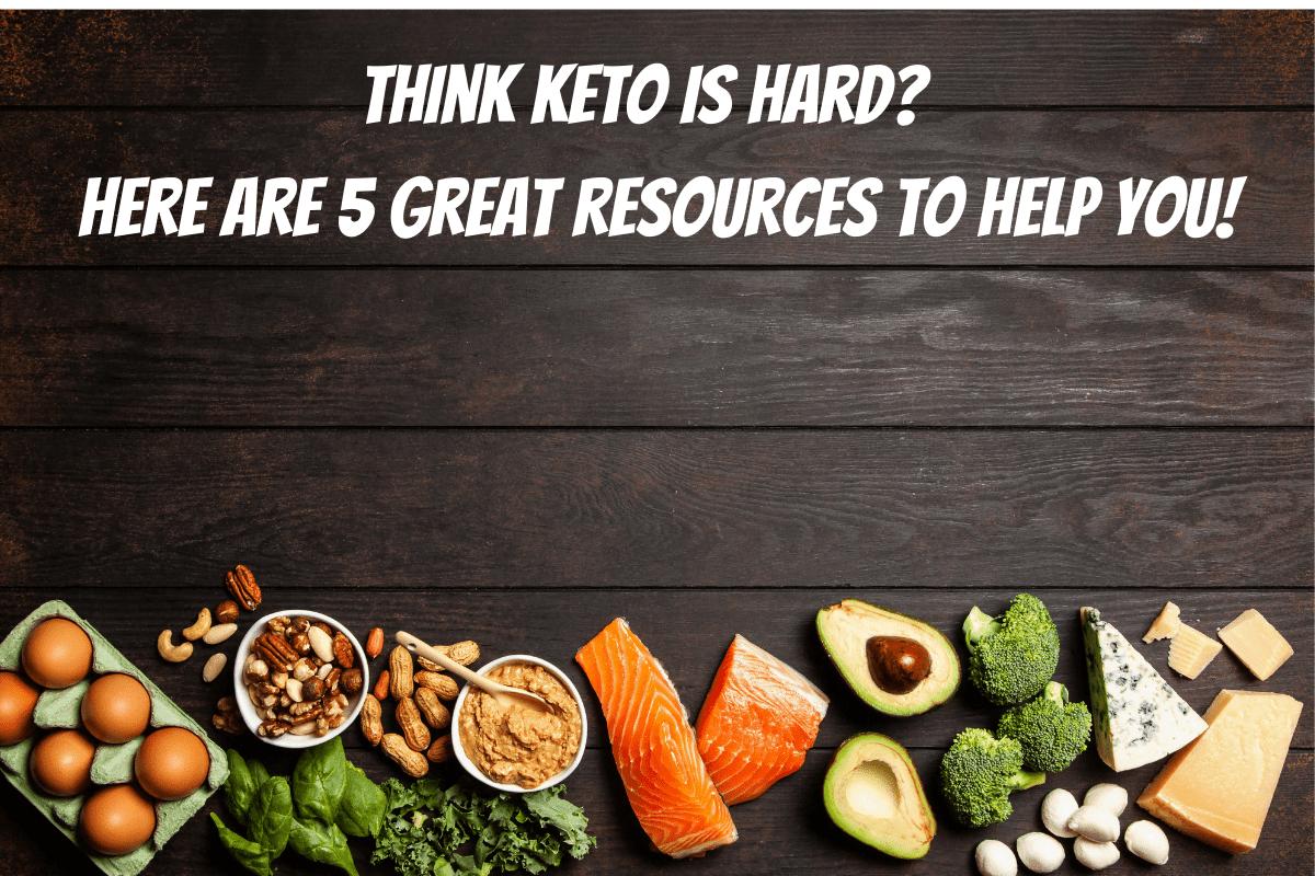 Five keto resources